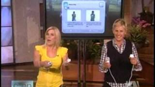 EA Sports Active - Wii Fitness Game - Alison Sweeney is on Ellen DeGeneres