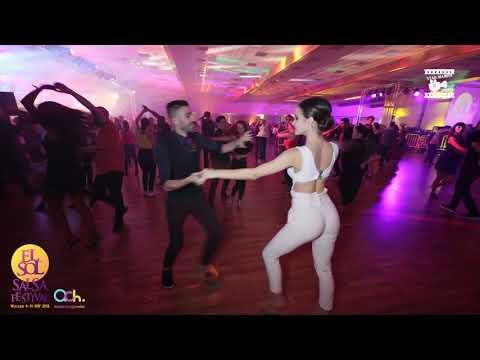 Panagiotis & Melanie - Salsa Social Dancing @ WARSAW SALSA FESTIVAL 2018