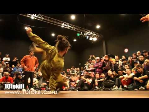 Lil Kev & Lil G Vs Kirill & Krit - RAW CIRCLES 2011 - 8Final - HD