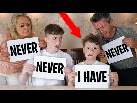 NEVER HAVE I EVER CHALLENGE WITH Family 4