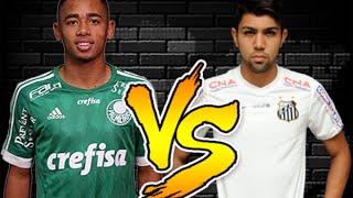 Gabriel jesus vs gabigol ⚽️ jovens talentos do brasil