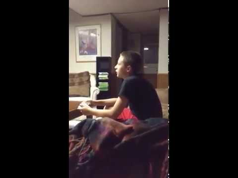 Kid breaks xbox controller over rage