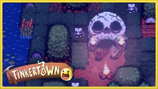 We begin our humble home in the realm of Tinkertown. The top seems peaceful, but what lies beneath?