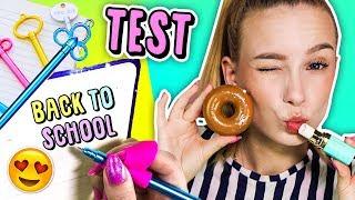 BACK TO SCHOOL ❤️ TEST PRZYBORÓW Z ALI !
