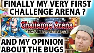 Brave Frontier Global My Very First Challenge Arena & My Opinion About The OP Bugs