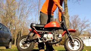 1979 Honda Z50 Built Up A Bit