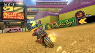 Wii U - Mario Kart 8 - (DS) Estadio Wario