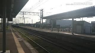 787系BM3 特急かもめ5号長崎行 長崎本線神埼駅通過