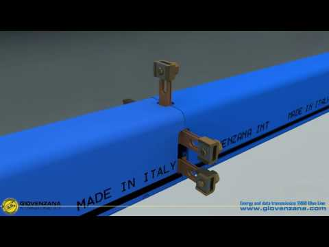 Троллейный шинопровод TR60 Blu line (Giovenzana)
