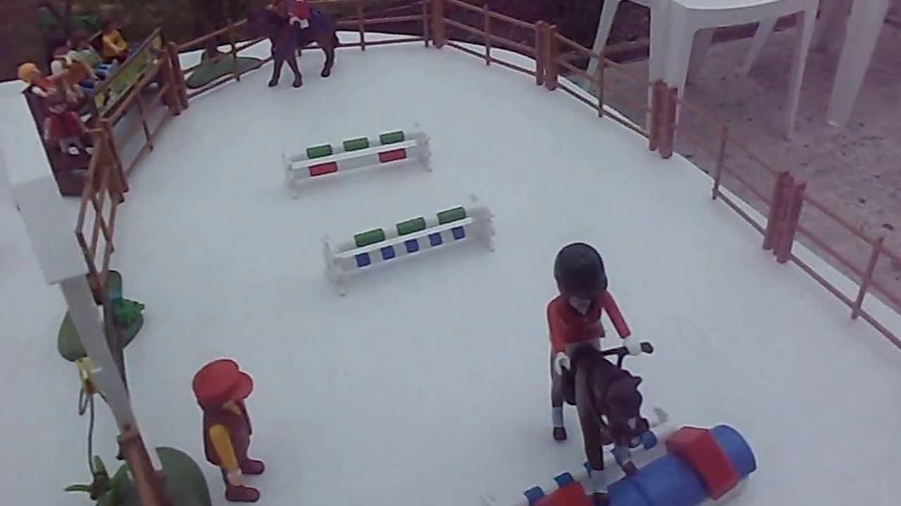 Centre questre playmobil 39 haras des lys d 39 or 39 youtube - Playmobil haras ...