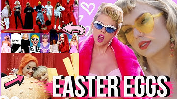 EASTER EGGS in Taylor Swift's YOU NEED TO CALM DOWN Music Video