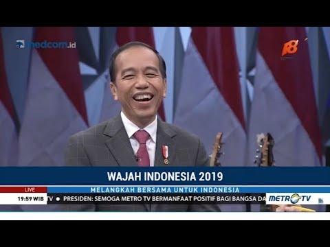 [Full] Momen Spesial Jokowi Ngobrol Santai di HUT ke-18 Metro TV
