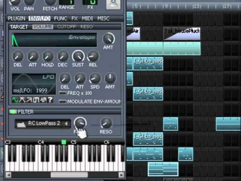 how to make a track in lmms