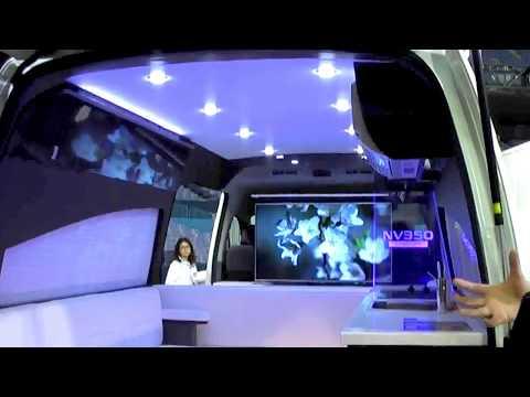 NISSAN NV350 Caravan Concept Baterai Ion Lithium Kemping Van