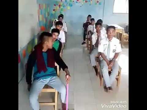 Video lucu anak sekolah naik bus ugal ugalan erwin