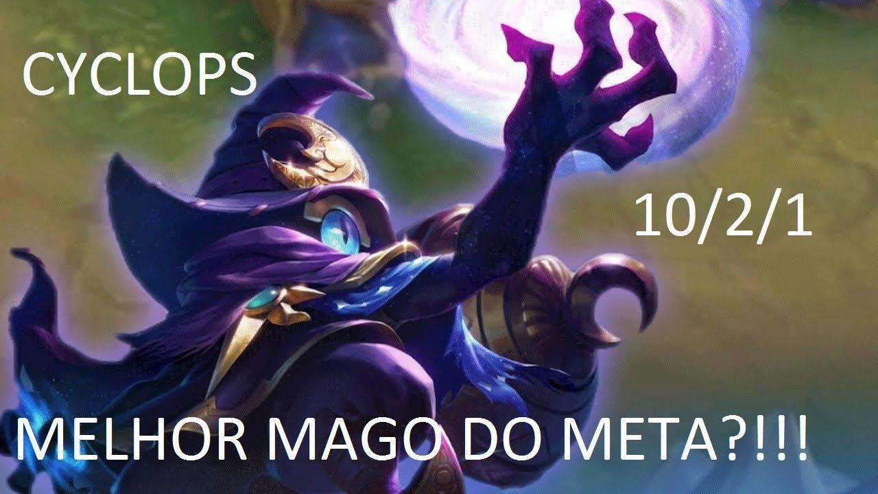 Mago Möbel cyclops o melhor mago mobile legends