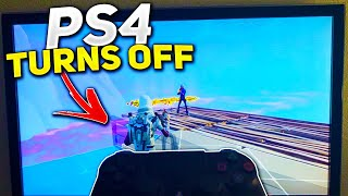 my PS4 turns off... (Scammer Gets Scammed) In Fortnite Save The World