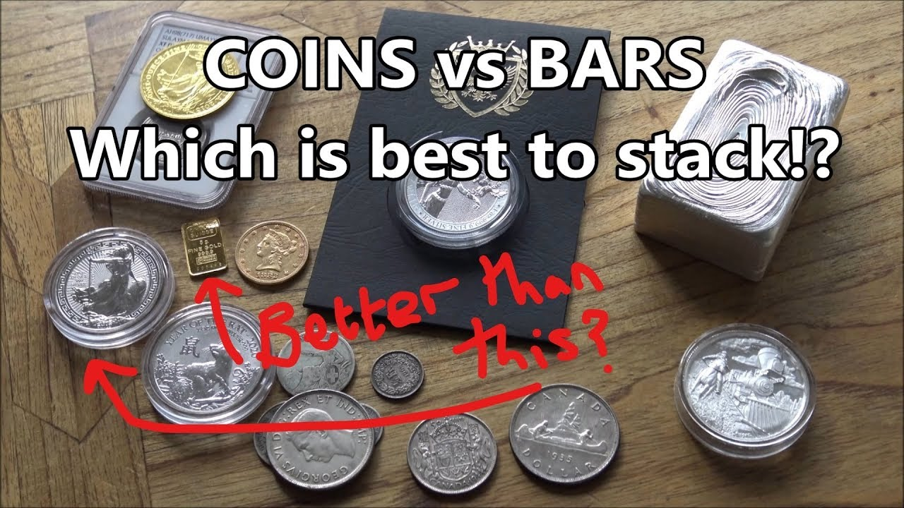 Gold And Silver Coins Or Bars
