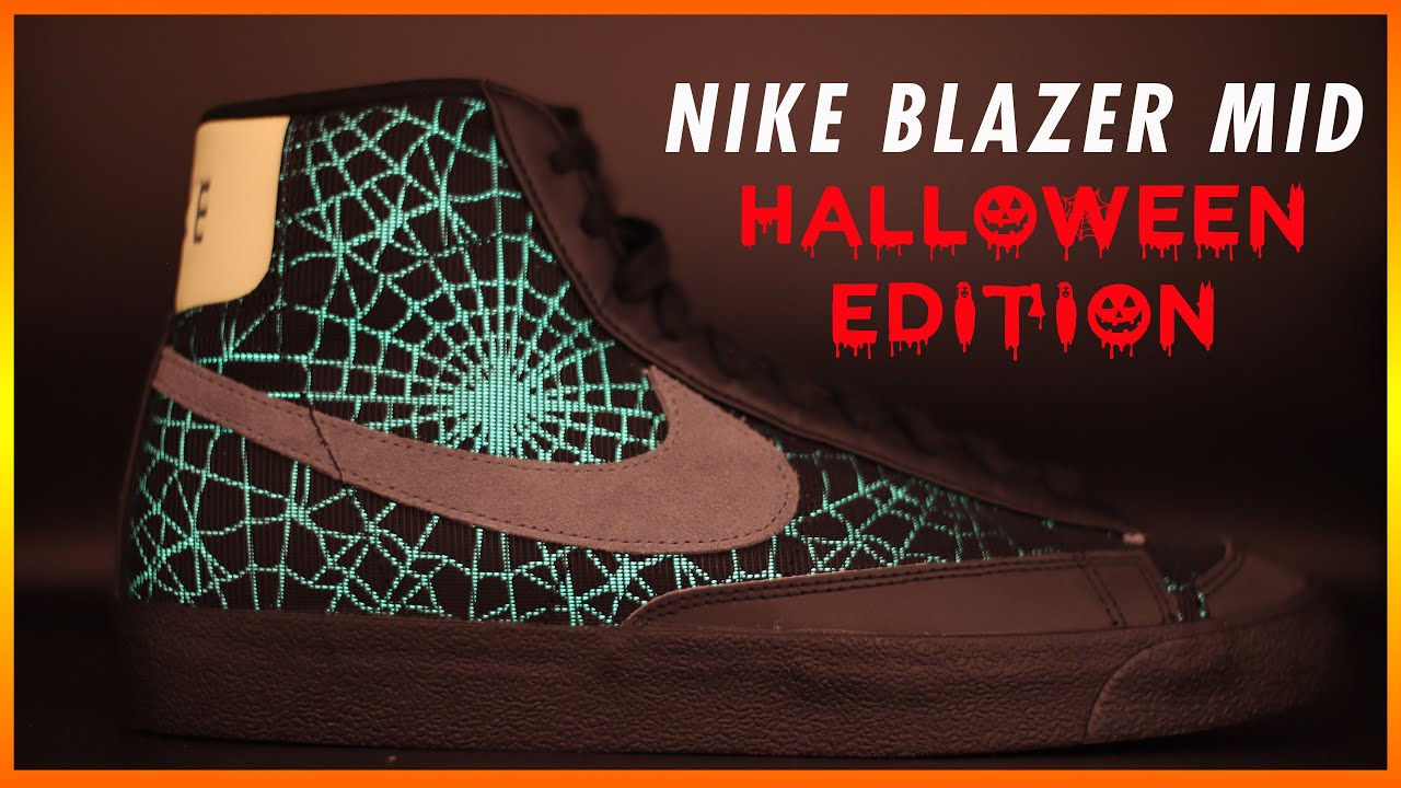 Nike Blazer Mid 77' 'Halloween Spider Web' Review