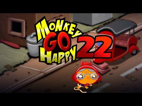"""Игра """"Счастливая Обезьянка 22"""" (Monkey GO Happy 22) - прохождение"""