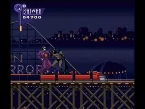 The Adventures of Batman & Robin - SNES - STAGE 1 - AMUSED TO DEATH