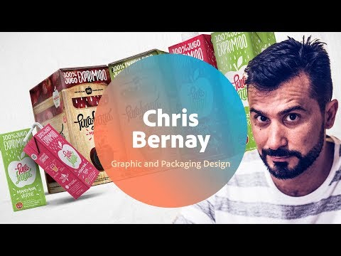 Live Graphic and Packaging Design with Chris Bernay - 1 of 3
