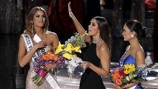 Miss Univers 2015 : la couronne change de tête après une erreur mémorable