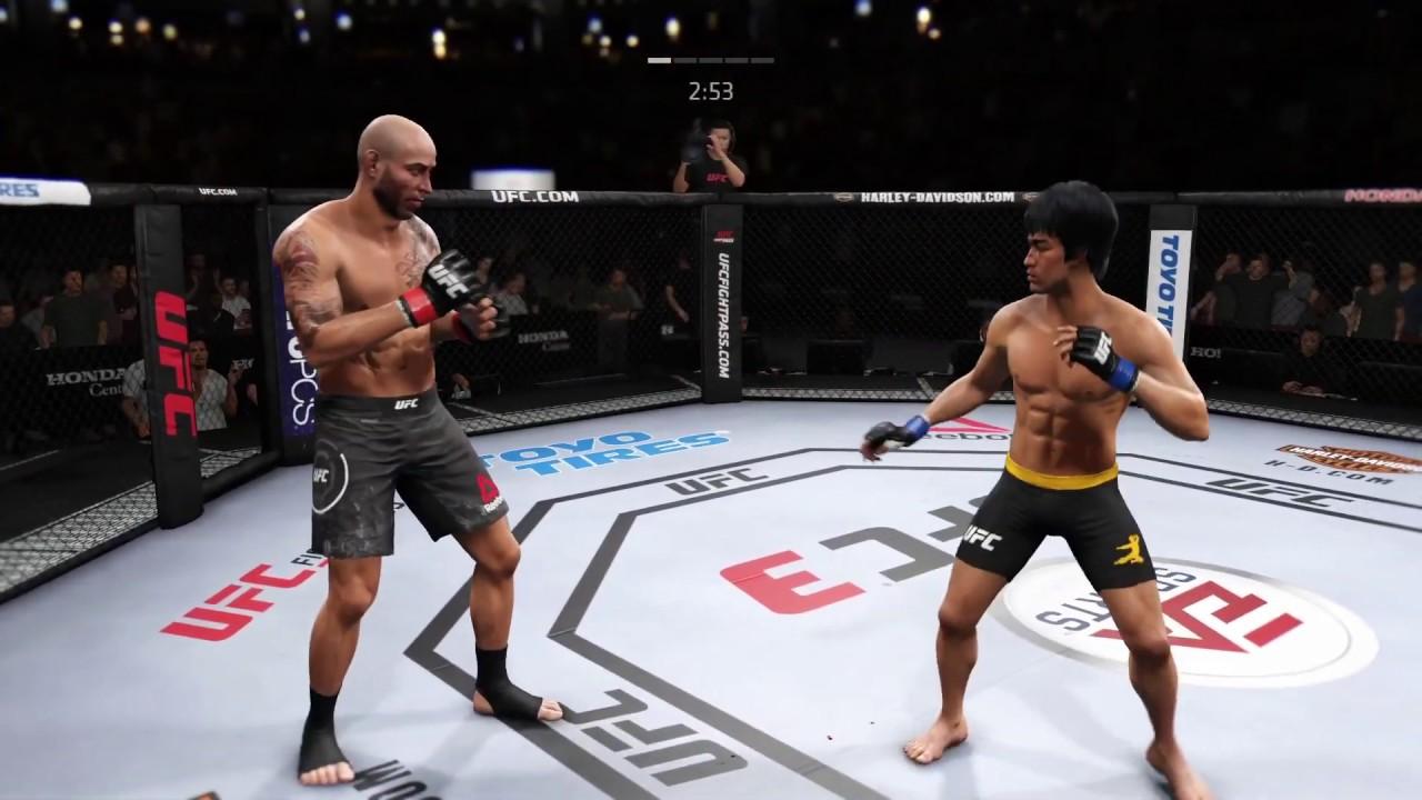 Ben Saunders vs. Bruce Lee (EA Sports UFC 3) - CPU vs. CPU - YouTube