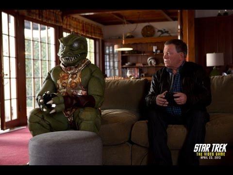 STAR TREK: THE VIDEO GAME -- Shatner vs. Gorn Trailer