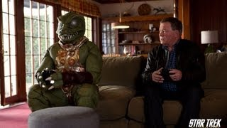 STAR TREK: THE VIDEO GAME -- Shatner vs. Gorn Trailer