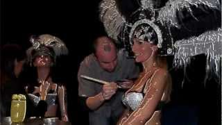 Repeat youtube video NUDE ART - NUDE BODYPAINTING MODELS | The making of Bodypainting Fashion TV
