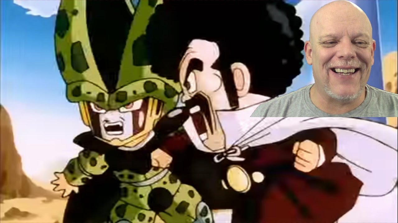 Reaction Videos Cell Vs Mr Satan Only Sho Nuff Can