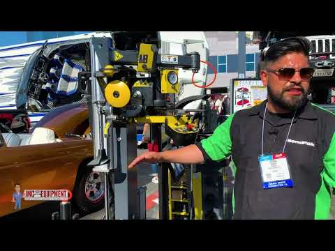 Check Out The Ranger RV1 Wheel Guardian Touchless Tire Changer