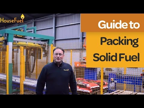 How Solid Fuel Is Packed | A Quick Look into the Process | House Fuel