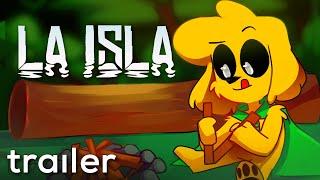 LA ISLA 🌴🦖 TRAILER ANIMADO 💎 c/ SPARTA, RAPTOR y el SEVERÍSIMO MIKECRACK!!!