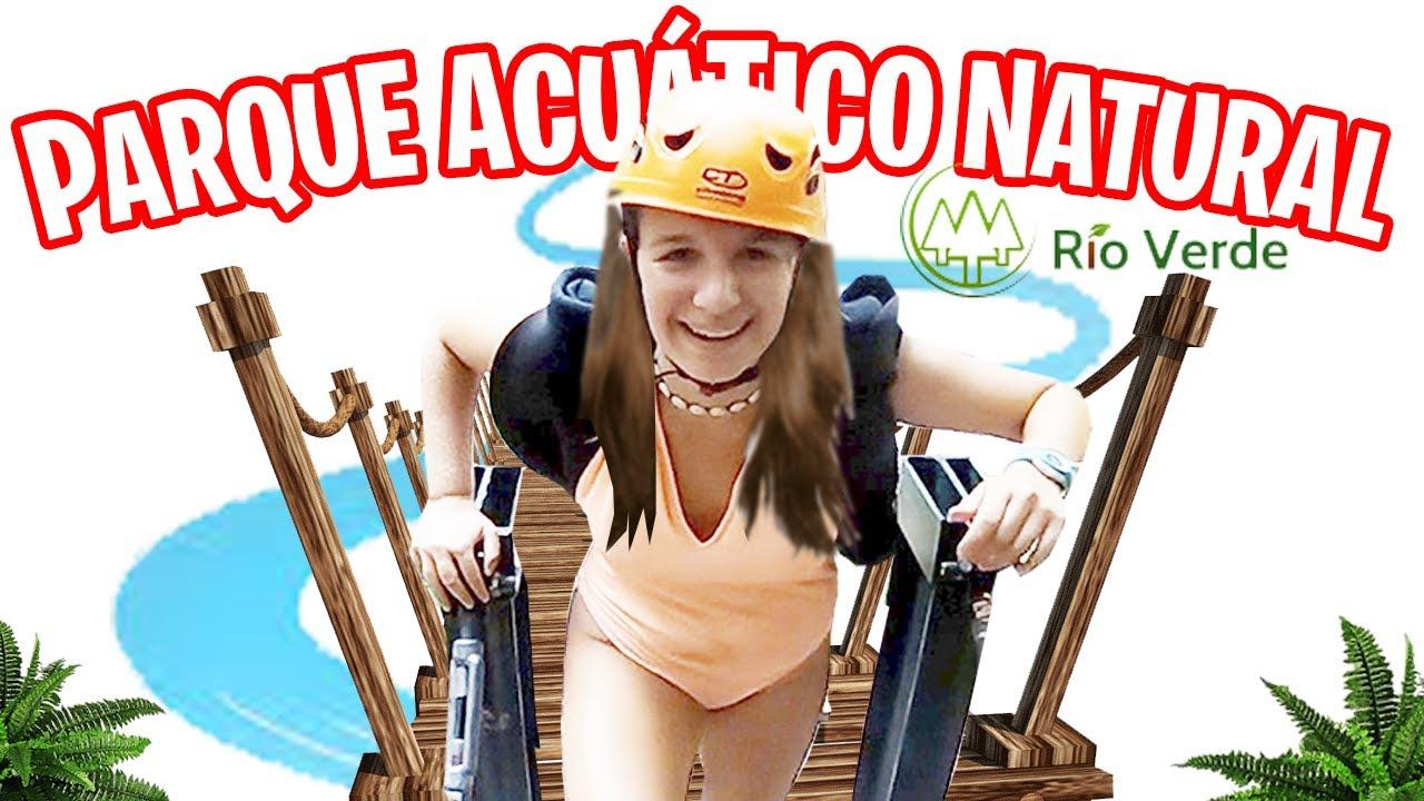 SORPRESA a AROA ¡¡PARQUE ACUÁTICO de TOBOGANES NATURALES! en RIO VERDE