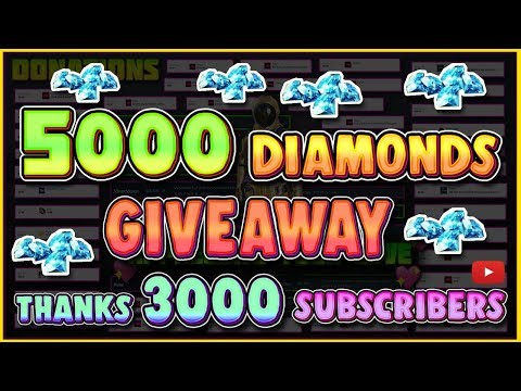 LIVE 🔴 3000 SUBSCRIBER'S GIVEAWAY! OPENING CUSTOMS & WIN DIAMONDS!