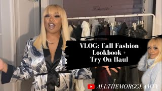 VLOG : Fall Fashion Look Book + Try On Haul | PrettyLittleThing, BooHoo, Missguided, and more!