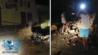 Así fue el sismo de 7.5 en Perú; reportan daños materiales