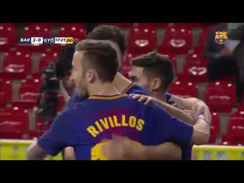 UEFA Futsal Cup: Barcelona 7--0 Gyor