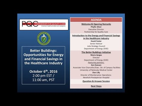 Webinar: Better Buildings