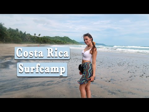 My Life At A SURF CAMP In COSTA RICA