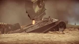 С Днём Победы! Клип на песню Михаила Калинкина Дуэль Т-34 и Пантеры