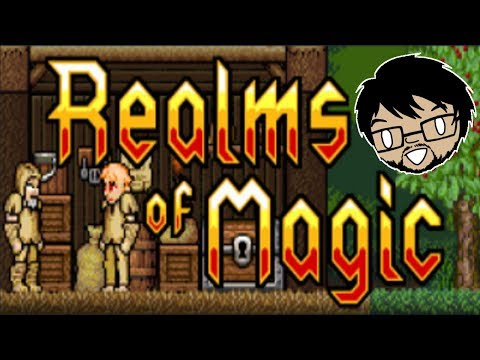 BETTER THAN TERRARIA?! | Realms of Magic (PC) | An Evening With Mabi