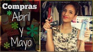 Compras Abril y Mayo Thumbnail