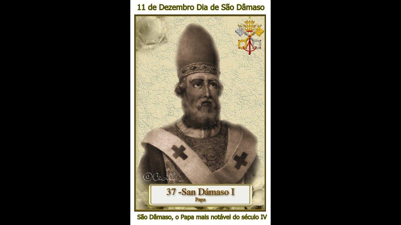 Resultado de imagem para SÃO DÂMASO I – Papa – Século IV