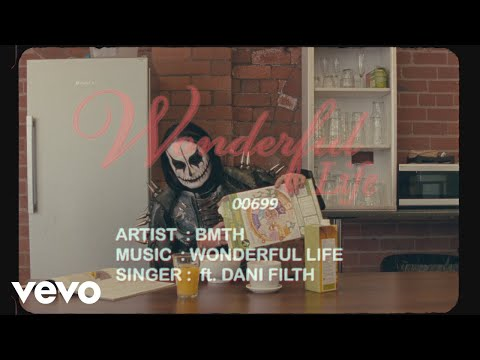 Bring Me The Horizon - wonderful life (Official Lyric Video) ft. Dani Filth