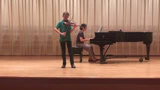 Vivaldi Concerto in g minor, 3rd movement
