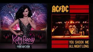 AC/DC Vs Katy Perry - Firework Shook Me All Night Long Mashup