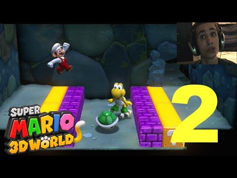 Super Mario 3D World - Part 2 - Evil Koopa Troopas! |